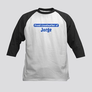 Grandmother of Jorge Kids Baseball Jersey