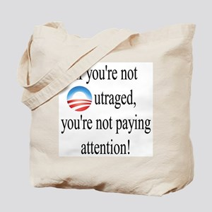 Outrage Tote Bag