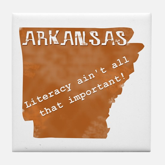 Vintage Arkansas Tile Coaster