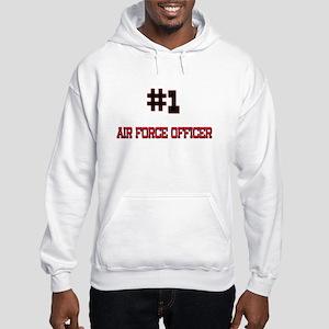 Number 1 AIR FORCE OFFICER Hooded Sweatshirt