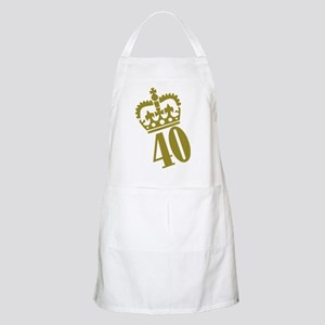 40th Birthday BBQ Apron