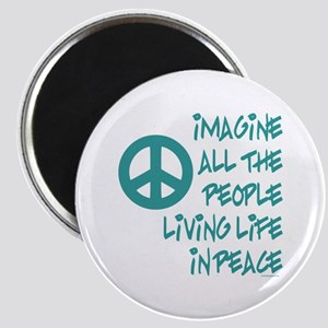 Imagine Peace Magnet