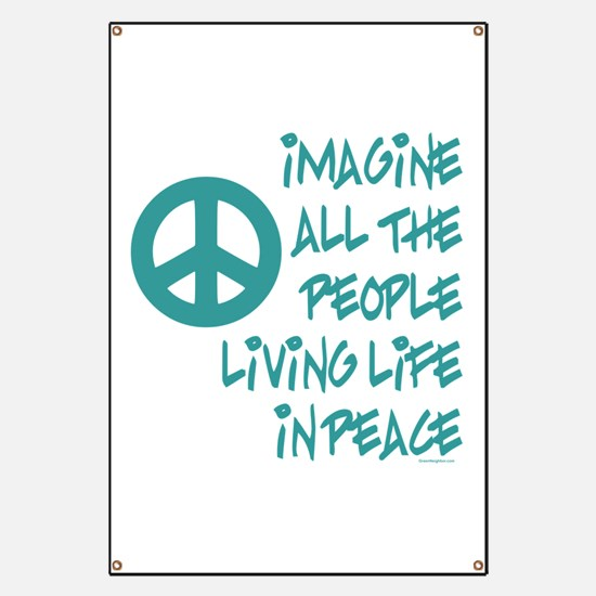 Imagine Peace Banner
