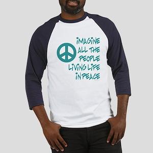 Imagine Peace Baseball Jersey