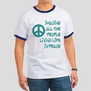 Imagine Peace Ringer T