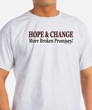 Hows that HOPE and Change Wor T-Shirt