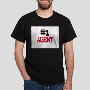 Number 1 AGENT Dark T-Shirt