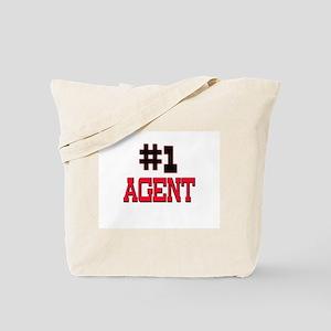 Number 1 AGENT Tote Bag
