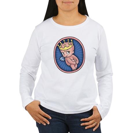 Princess Pending 2 Women's Long Sleeve T-Shirt