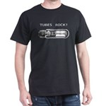 Tubes Rock Black T-Shirt