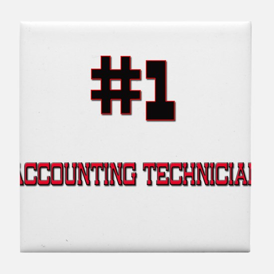 Number 1 ACCOUNTING TECHNICIAN Tile Coaster