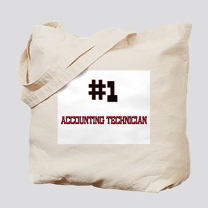 Number 1 ACCOUNTING TECHNICIAN Tote Bag