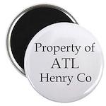 Property of ATL Henry Co Magnet