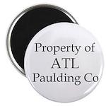 Property of ATL Paulding Co Magnet