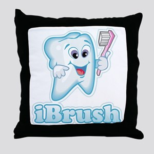 iBrush Throw Pillow