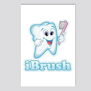 iBrush Postcards (Package of 8)