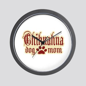 Chihuahua Mom Wall Clock