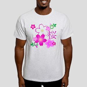 Kanji For Cherry Blossom Light T-Shirt