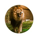 """King of the Jungle 3.5"""" Button"""