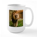 King of the Jungle Large Mug