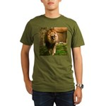 King of the Jungle Organic Men's T-Shirt (dark)