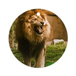 King of the Jungle Ornament (Round)