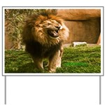 King of the Jungle Yard Sign