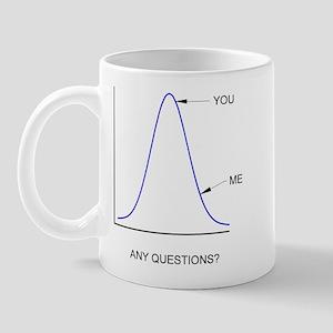 Bell Curve Mug
