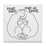 Hugz Tile Coaster