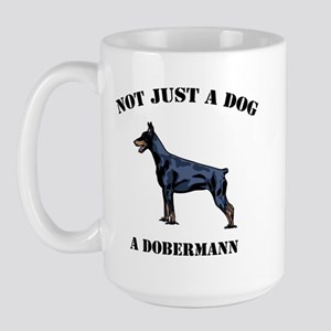 Not Just a Dog Large Mug