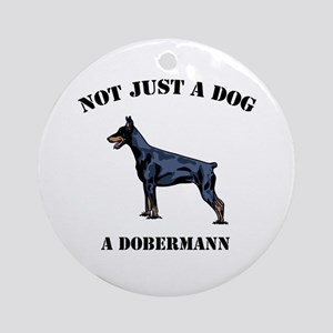 Not Just a Dog Ornament (Round)