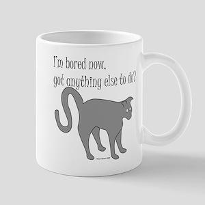 Bored Cat Mug