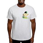 Bagpipes Pocket Image Light T-Shirt