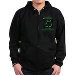Recycle Zip Hoodie (dark)