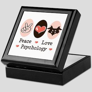 Peace Love Psychology Keepsake Box