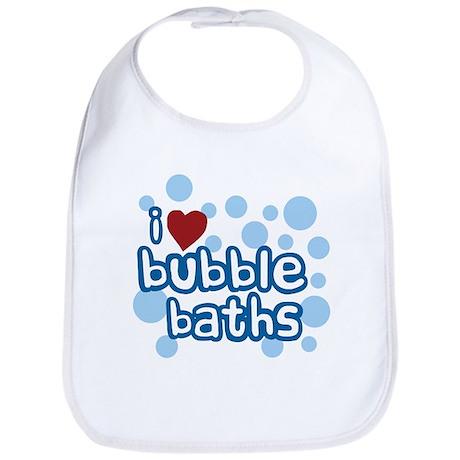 I Love Bubble Baths Bib