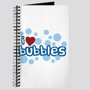 I Love Bubbles Journal