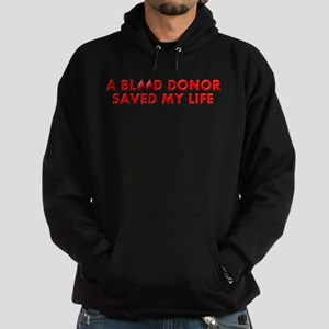 Saved by Blood Hoodie (dark)
