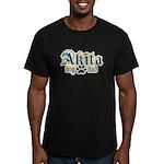 Akita Dad Men's Fitted T-Shirt (dark)