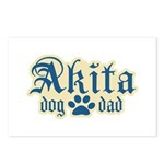 Akita Dad Postcards (Package of 8)