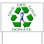 Donate Yard Sign