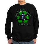 Donate Sweatshirt (dark)