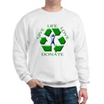 Donate Sweatshirt