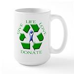 Donate Large Mug