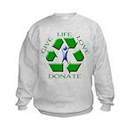Donate Kids Sweatshirt