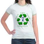 Donate Jr. Ringer T-Shirt