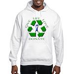 Donate Hooded Sweatshirt