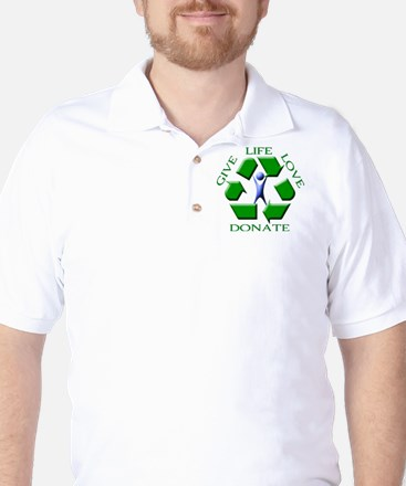 Donate Golf Shirt