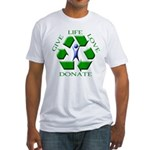Donate Fitted T-Shirt