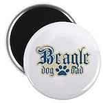 Beagle Dad Magnet